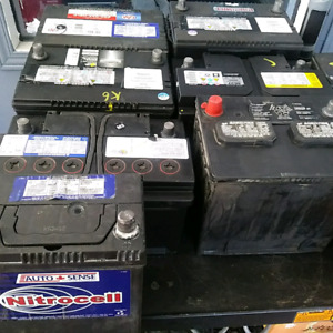 car and truck battery removal and recycling