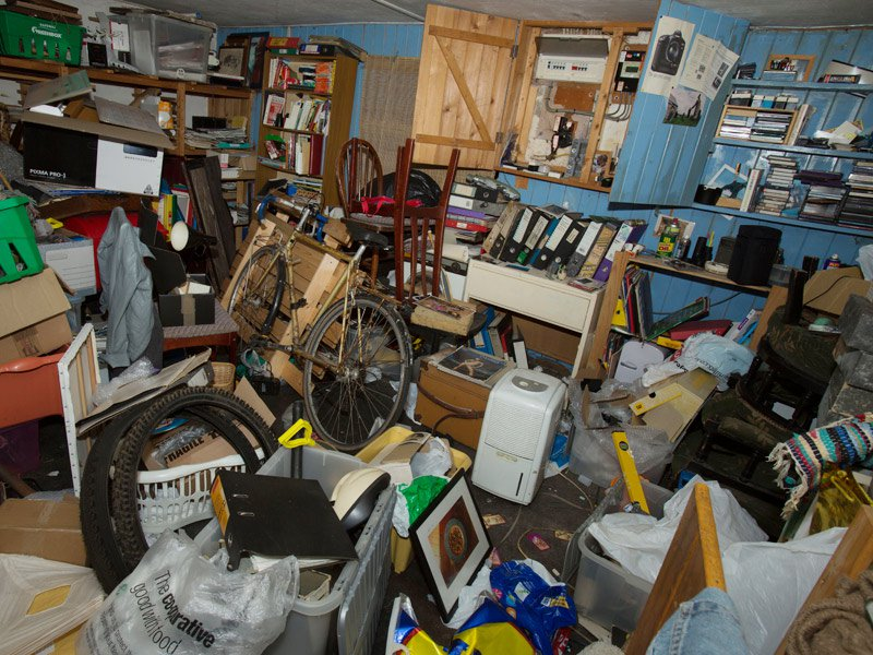 Hoarder junk removal and assistance