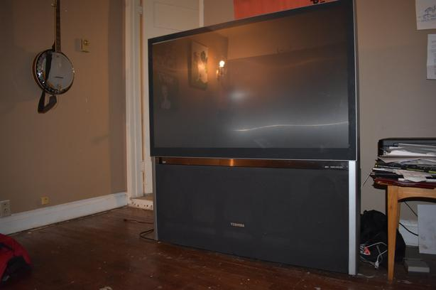large TV removal
