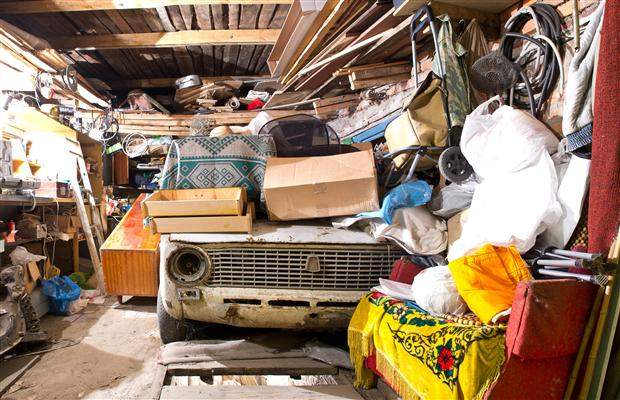Messy garage clean up services
