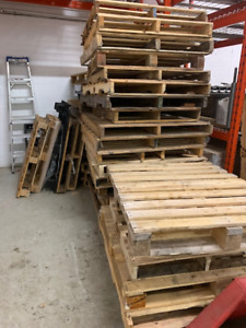 skid removal and wooden pallet removal and disposal