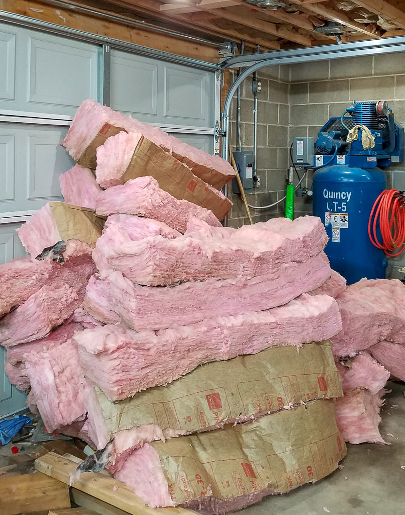 insulation removal and disposal
